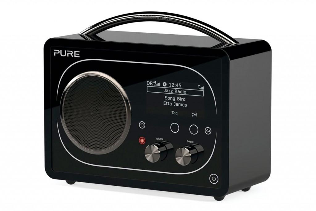 Pure F4 DAB Radio with Bluetooth