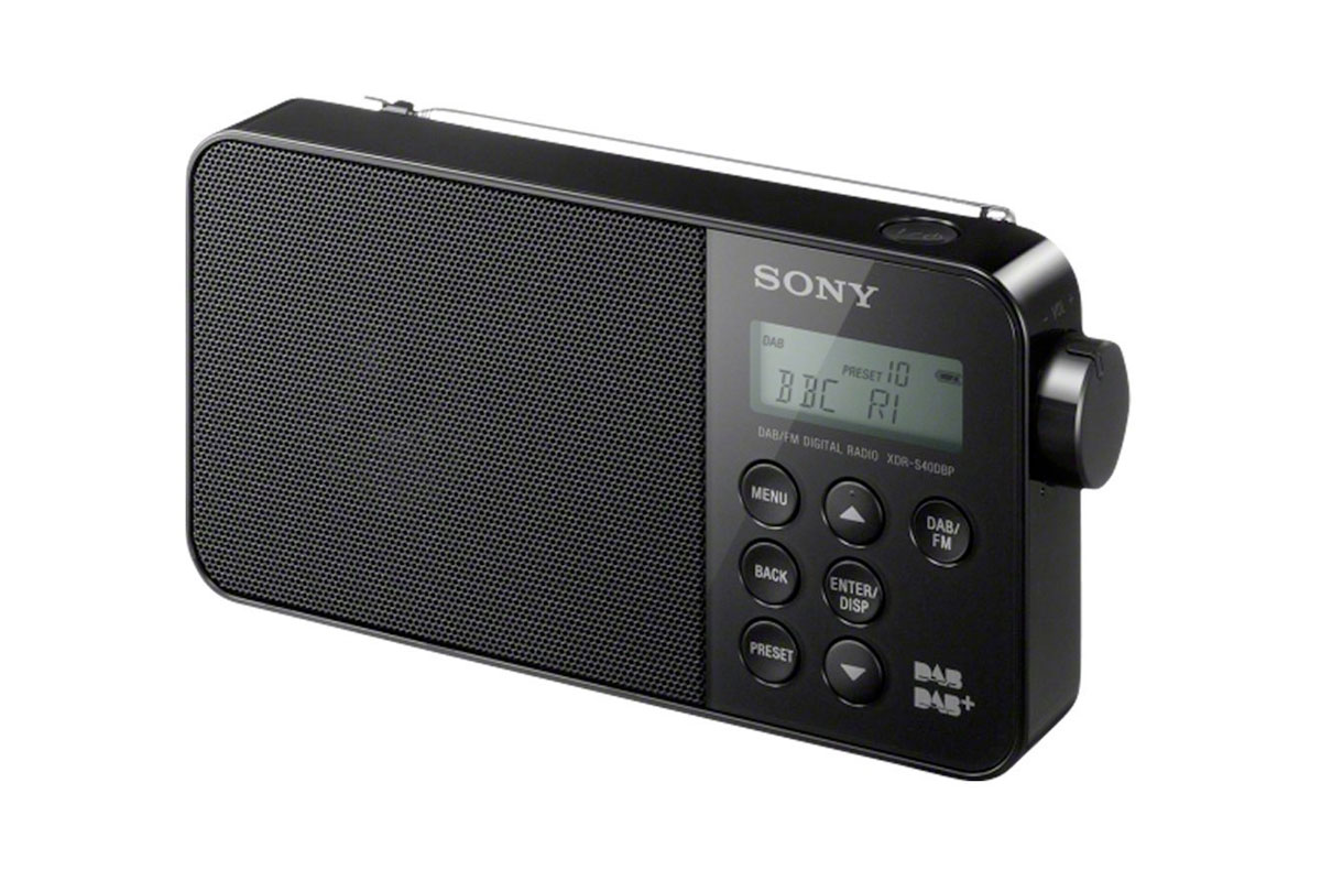 sony xdr s40dbp digital radio choice. Black Bedroom Furniture Sets. Home Design Ideas