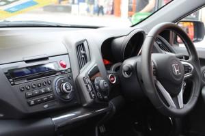 Honda car dashboard