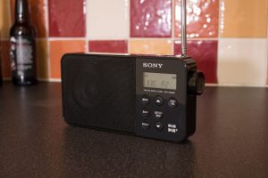 Sony XDR-S40DBP in a Kitchen