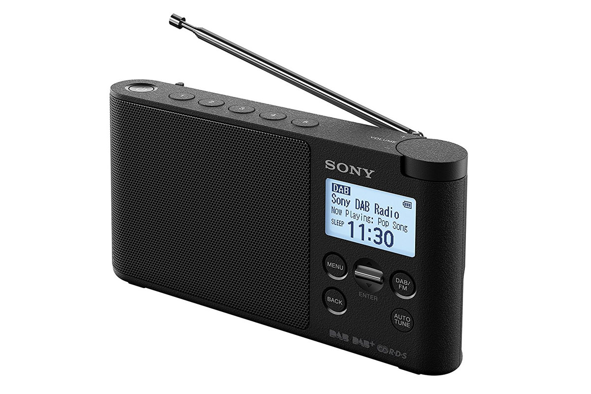 sony xdr s41d portable fm dab dab digital radio. Black Bedroom Furniture Sets. Home Design Ideas
