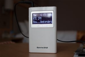 Roberts SportsDAB5 Front View