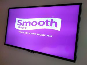 Smooth Radio on a Freeview television