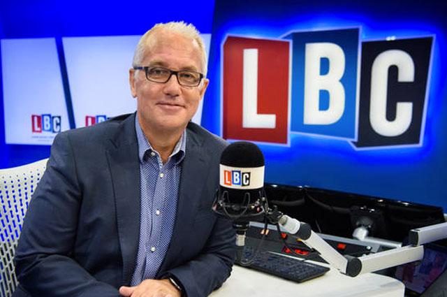 Eddie Mair on LBC