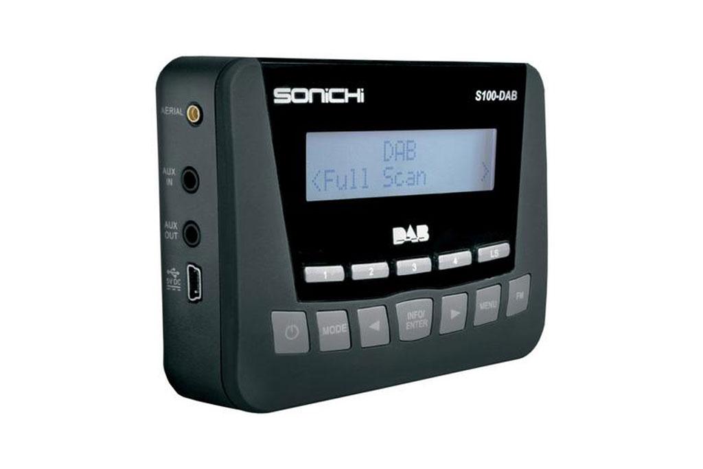 Sonichi S100 Plug & Play DAB Digital Radio FM Transmitter AUX MP3 iPod
