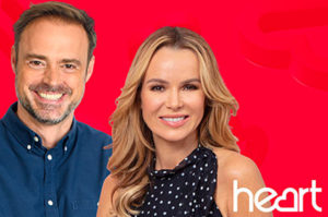 Jamie Theakston and Amanda Holden on Heart