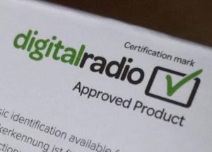 Digital Radio Tick Mark