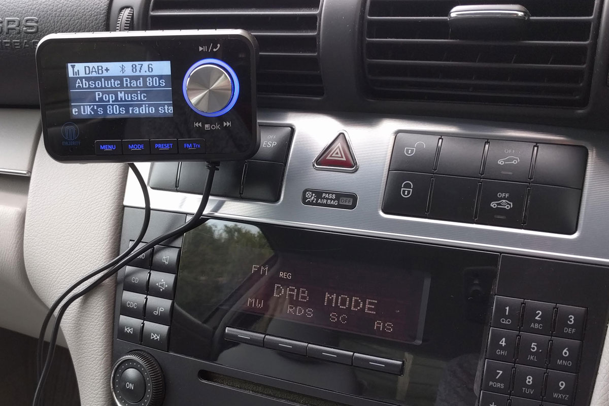 Connecting to the car stereo