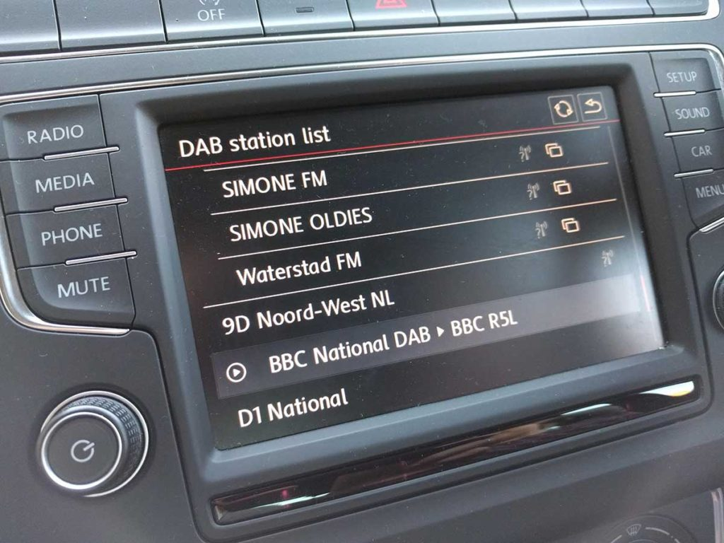Dutch digital radio stations received in the UK